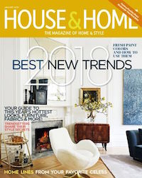 The January 2018 Issue Of Canadian House Home Is A Winner