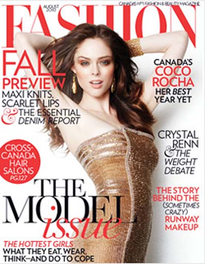 Fashion Magazines Nyc: Ceri Marsh Resigns As Editor Of FASHION Magazine